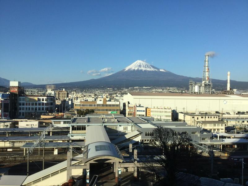 富士山するがテラス竣工間近!~富士山がよく見えますよ~